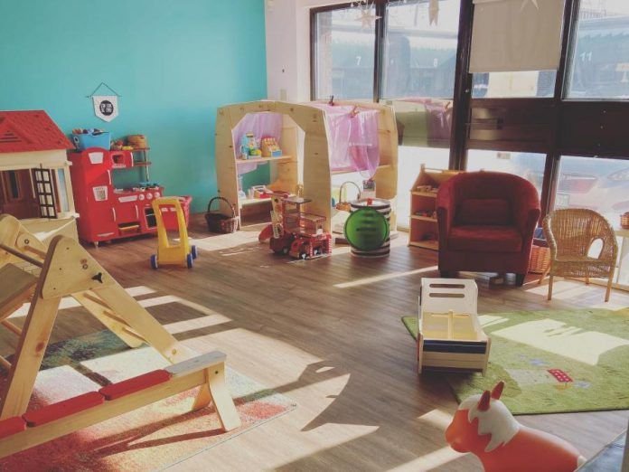 Play Café's popular play room keeps children busy with developmentally appropriate toys, puzzles, books, and more. (Supplied photo)