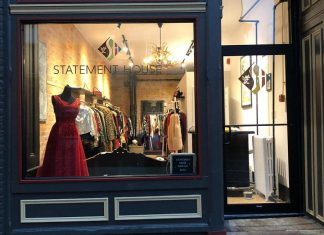 Sandra Young has opened a new vintage clothing shop called Statement House at 378 Water Street in downtown Peterborough. The retail shop specializes in vintage clothing from the 1940s to the 1960s, and also carries new or gently used items with a vintage or retro feel. (Photo courtesy of Statement House)