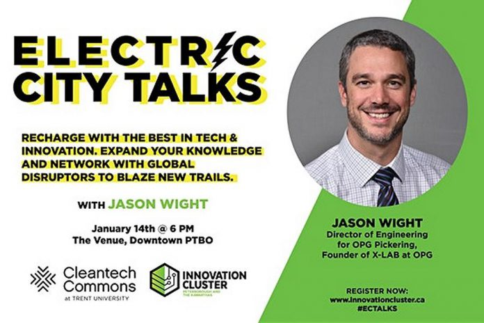 Electric City Talks: An Evening with Jason Wight