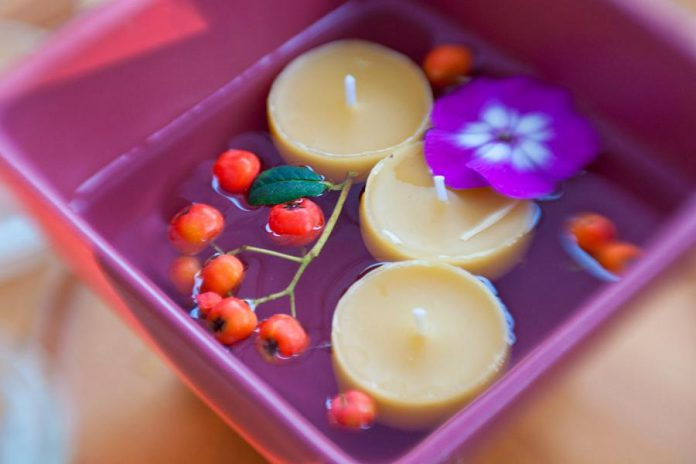 Locally made beeswax candles from This Old Flame.  (Photo: This Old Flame)