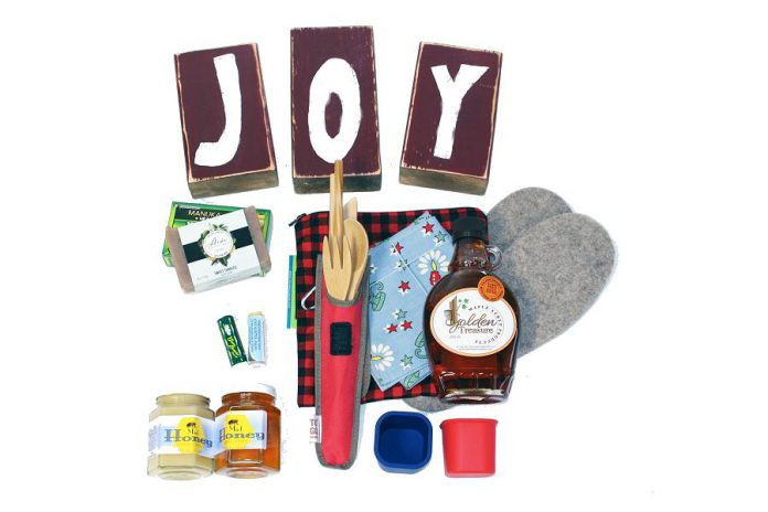 The GreenUP Store in downtown Peterborough has unique environmentally friendly and locally made gifts and stocking stuffers for any budget. When you choose local by shopping at GreenUP, you are supporting the environment both by reducing waste and by directly supporting the environmental work of the non-profit charity. You can also purchase gift certificates and, when you combine a donation to GreenUP with the purchase of a gift certificate, GreenUP will send you the gift certificate in a personalized donation holiday card that you can gift to friends or family. (Photo courtesy of GreenUP)