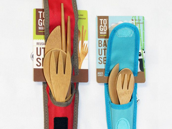 Reusable wooden utensils from To-Go Ware. (Photo courtesy of GreenUP)