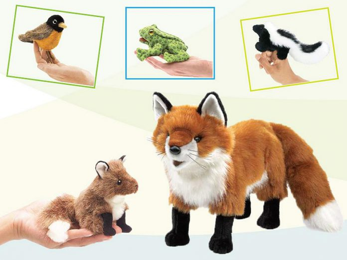 Woodland finger puppets. (Photo courtesy of GreenUP)