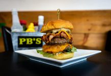 New restaurant Peterburgers, which officially opened on December 3rd in downtown Peterborough, has one focus: making delicious burgers. (Photo: Happy Heart Photography)