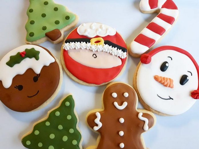 Baked4U offers fun and colourful sugar cookies for the holidays. (Photo: Shannon Healey)