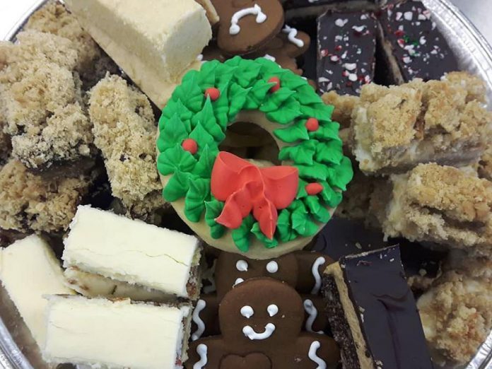 Baked4U offers a wide variety of festive cookies and bars. (Photo: Shannon Healey)