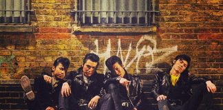 """Tokyo rockabilly rockers Johnny Pandora, led by """"Johnny"""" Daigo Yamashita, is performing at The Red Dog in downtown Peterborough on Friday, December 6th, with openers The Lohrwoods. (Publicity photo)"""