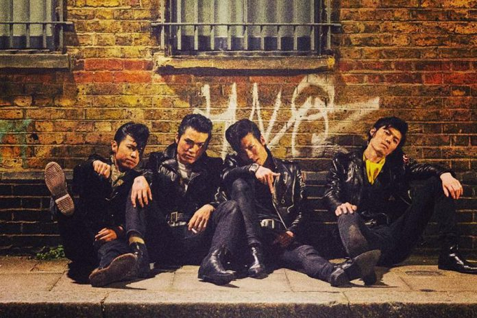 "Tokyo rockabilly rockers Johnny Pandora, led by ""Johnny"" Daigo Yamashita, is performing at The Red Dog in downtown Peterborough on Friday, December 6th, with openers The Lohrwoods. (Publicity photo)"