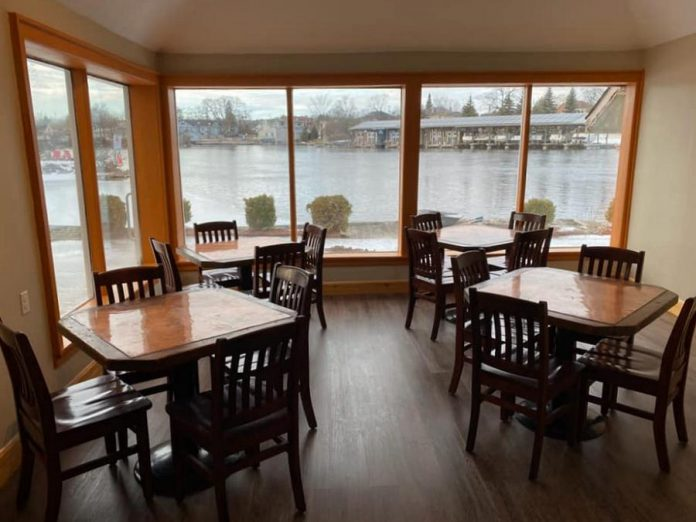 Riley's Bar and Grill, which opens in Bobcaygeon on February 1, 2020, overlooks the water. (Photo: Riley's Bar and Grill)