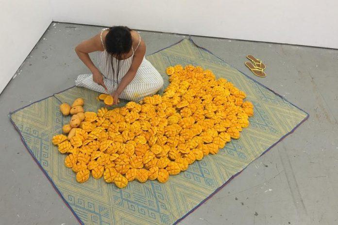 'Bulaklak' by Maria Patricia Abuel. (Photo: Trinity Square Video)