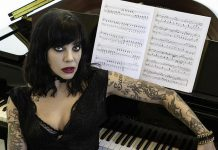 "Indo-Canadian singer-songwriter Beth Torbert, better known by her stage name Bif Naked, will be performing with her husband Steve ""Snake"" Allen at the Market Hall in downtown Peterborough on March 4, 2020 as part of her Songs And Stories 2020 tour. She will play her punk, pop and alt-rock tunes, including from her upcoming album ""Champions"", and will be reading excerpts from her 2016 memoir. Toronto singer-songwriter Frank Moyo will be opening. (Photo: Coco & Kensington Photography)"