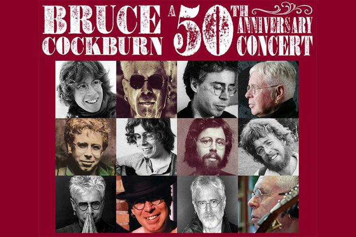 The many faces of Bruce Cockburn. (Graphic: brucecockburn.com)