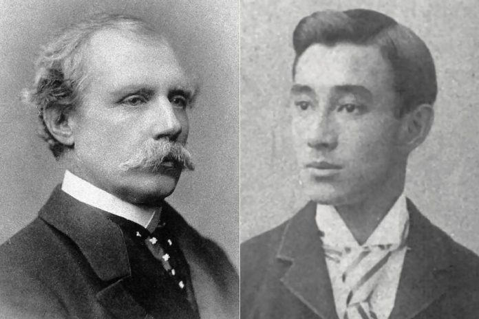 Charles Brooke (left), the second Rajah of Sarawak, an independent state founded by his uncle on the island of Borneo, married a Malay woman known as Dayang Mastiah and had a child named Esca (right). After Brooke married wealthy British woman Margaret Alice Lili de Windt, she schemed to have Esca sent away so that her own first-born son could become the third White Rajah. (Photos: Public domain and the Brooke-Daykin family)