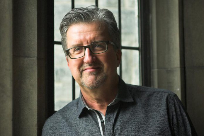 """Canadian Rajah"" playwright and Peterborough native Dave Carley. Carley will be in attendance at the March 8, 2020 performance of the play at the Market Hall in Peterborough and will participate in a question-and-answer session. (Photo: Stephanie Hanna)"