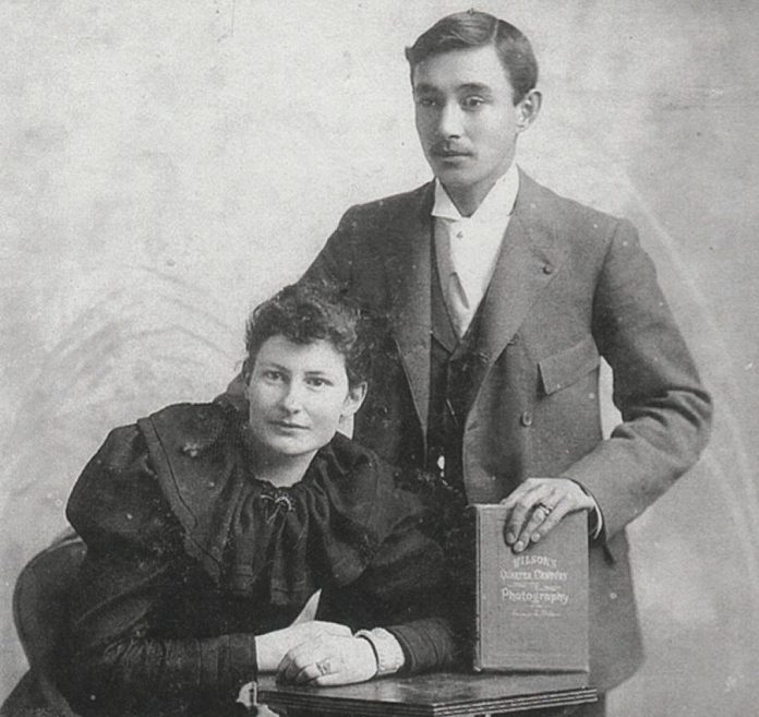 "Esca Brooke-Daykin with his wife Edith Daykin. Dave Carley's play ""Canadian Rajah"", which imagines a conversation between Esca and the stepmother who prevented him from inheriting the title of Rajah of Sarawak, is based in part on an actual meeting between Edith and Margaret Brooke in England.  (Photo courtesy of the Brooke-Daykin family)"