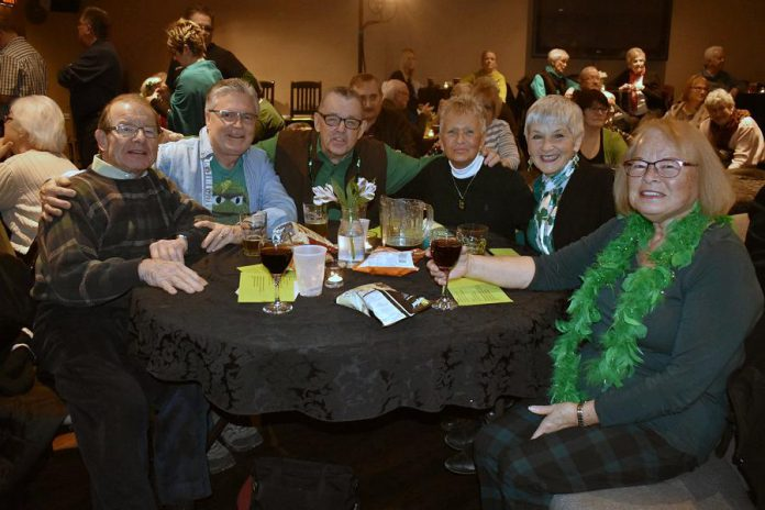 Audience members join in the celebration of the stories and music of Ireland at Foley's Irish Pub. (Photo courtesy of Theresa Foley)