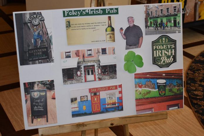 """Photos of just a few of pubs named """"Foley"""" that storyteller Hugh Foley has encountered during his trips to Ireland. (Photo courtesy of Theresa Foley)"""