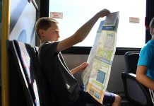 The Grade 8 Transit Quest provides free Peterborough Transit passes to all Grade 8 students within the City of Peterborough for the duration of March Break, from March 13 to 22, 2020. Active School Travel PTBO and the Grade 8 Transit Quest seek to shift perspectives of adolescent freedom away from car ownership and towards transit and active forms of transportation. (Photo courtesy of GreenUP)