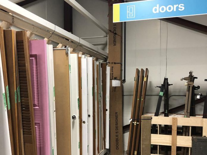 Tools, windows, doors, lawn equipment, electrical or plumbing supplies and hardware can also be donated. You can find a complete list of what is and is generally not accepted on the ReStore website.  (Photo courtesy of Habitat for Humanity Peterborough & Kawartha Region)