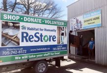 Habitat for Humanity Peterborough & Kawartha Region encourages area residents to donate their new and gently used items at any of the three ReStore locations at 300 Milroy Drive (pictured) and 550 Braidwood Avenue in Peterborough, and at 55 Angeline Street North in Lindsay. If you have bulky items you're unable to transport yourself like large appliances and furniture, a pickup can be arranged where ReStore staff can come to you to assist with the items. By donating to ReStore, you are not only keeping items out of the landfill but are helpiing local families achieve strength, stability, and self-reliance through affordable homeownership. (Photo courtesy of Habitat for Humanity Peterborough & Kawartha Region)