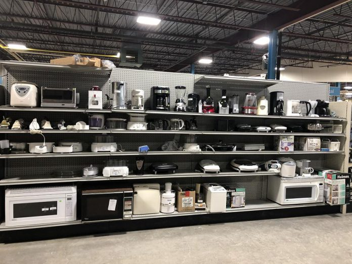 The ReStore will accept donations of new and gently used furniture, home décor, housewares, appliances, DIY and renovation materials, and more. (Photo courtesy of Habitat for Humanity Peterborough & Kawartha Region)