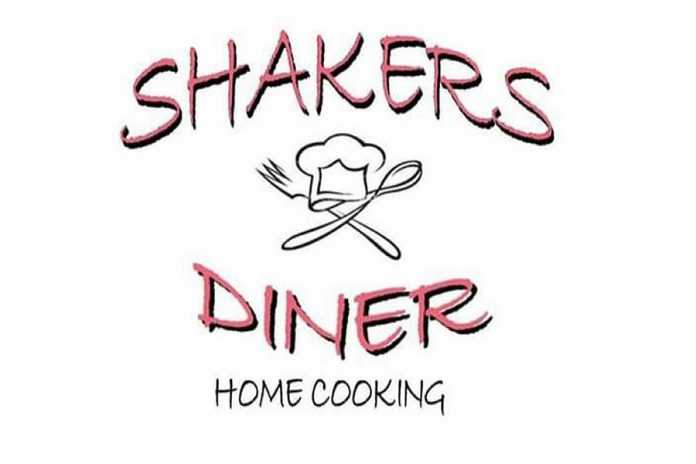Shakers Diner is now open at 98 Queen Street in Lakefield.