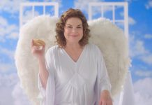 Peterborough's Linda Kash, known for her stint as the iconic Kraft Philadelphia Cream Cheese Angel in the beloved TV commercials from the 1990s, is searching for her successor. To audition, share a short video on social media using #PhillyCastingCall showcasing why you are perfect for the role. (Photo: Kraft Heinz Canada)
