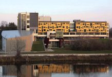 Trent University is offering up to 100 rooms within Gzowski College, located on the East Bank of Trent University's Symons Campus, for the temporary use of Peterborough Regional Health Centre workers who choose to self-isolate from their families while caring for patients. (Photo: Trent University