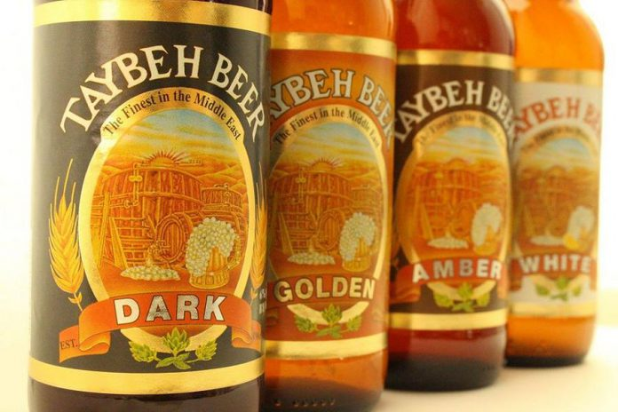 You can try beer from Palestine's Taybeh Brewery at a tasting event held at Nateure's Plate in Peterborough on March 16, 2020. (Photo: Palestine Just Trade)