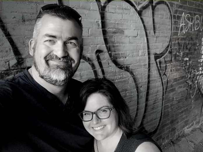 Chad and Marie Miller are the husband-and-wife team behind Lofty Butter Company, which makes small-batch cultured butter in Trent Hills.  Marie is also kawarthaNOW's events editor.  (Photo: Lofty Butter Company)