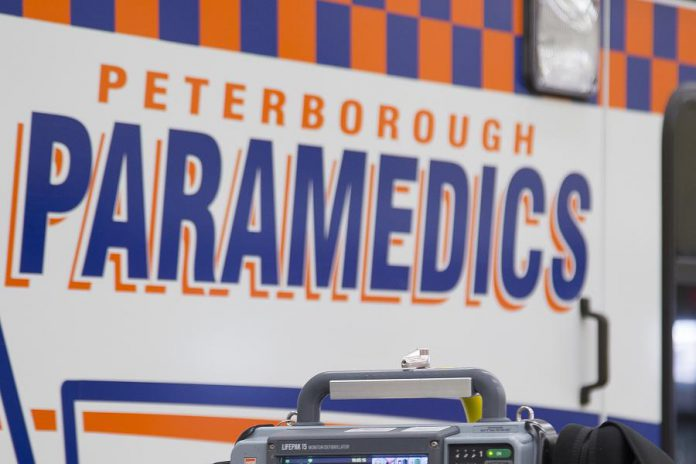 The Peterborough County-City Paramedics, in conjunction with Peterborough Public Health and Peterborough Regional Health Centre (PRHC), has started in-home COVID-19 assessments and testing in Peterborough. The service is only for residents who cannot travel to one of the existing assessment centres or who should remain self-isolated and require assessment. (Photo: County of Peterborough)