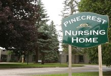 Pinecrest Nursing Home is a 65-bed nursing home in Bobcaygeon, Ontario. As of April 4, 2020, 22 residents of the home have died from COVID-19. (Photo: Central East CCAC / YouTube)