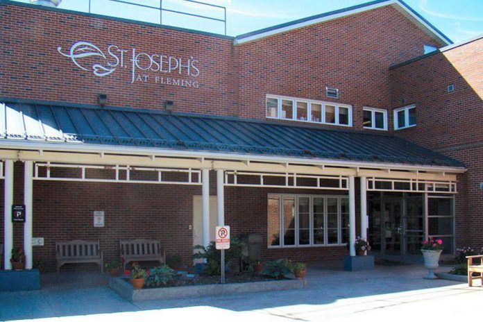 St. Joseph's at Fleming is a 200-bed long term care facility in Peterborough. (Photo: St. Joseph's at Fleming)