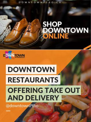 On its website, the Peterborough Downtown Business Improvement Area (DBIA) has also listed downtown retailers and eateries where you can order for pick-up or delivery. (Photo courtesy of DBIA)