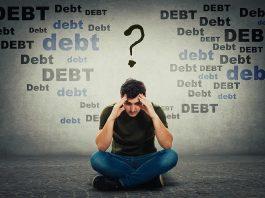 Debt graphic