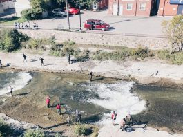 The Ganaraska River is one of Ontario's most popular fishing destinations, with a steelhead and rainbow trout run in the spring and a chinook salmon run in the late summer and early fall. (Photo: Port Hope Tourism)