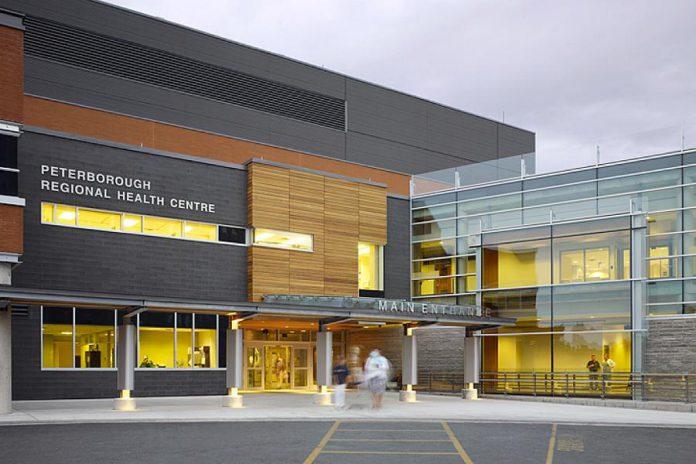The main entrance of Peterborough Regional Health Centre. (Photo: PRHC)