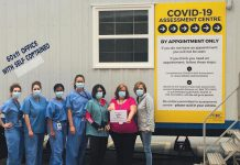 This on-site mobile COVID-19 Assessment Centre is one of several steps Peterborough Regional Health Centre (PRHC) has taken over the past several week to prepare for and manage the increased number of patients due to the COVID-19 pandemic. (Photo: PRHC)
