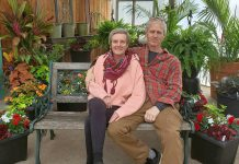 Elyn and Peter Green, owners of The Greenhouse on the River in Douro-Dummer, have announced that 2020 will be the final year of business of their popular independent garden centre. (Photo: The Greenhouse on the River / Facebook)