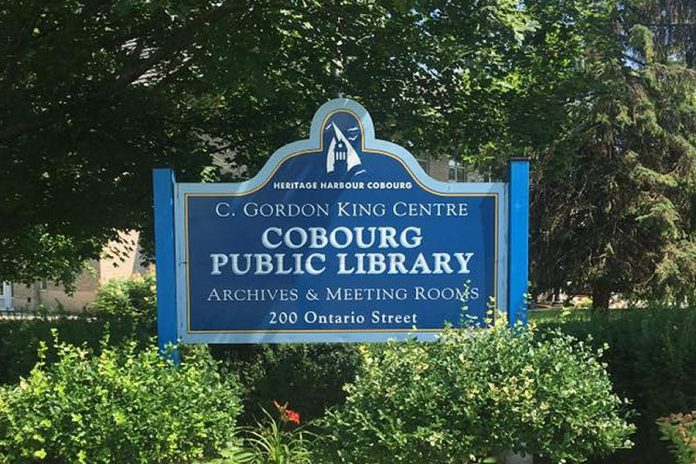 Cobourg Public Library is offering curbside pick-up starting May 19, 2020, after the Ontario government announced he first stage of reopening the province during the COVID-19 outbreak. (Photo: Cobourg Public Library / Facebook)