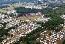The Havelock Country Jamboree, Canada's largest country music camping festival, has been cancelled due to the COVID-19 pandemic. The 31st annual has been scheduled to take place from August 13th to 16th in Havelock, Ontario. (Photo: Anita Bell / Havelock Country Jamboree)
