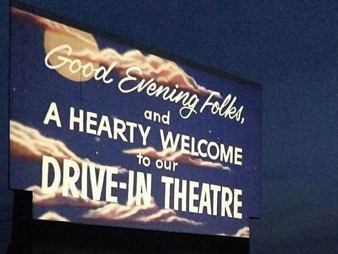 Drive-in theatres in Ontario can reopen on May 31, 2020, as long as restrictions are followed to prevent the spread of COVID-19. (Photo: Lindsay Drive-In)