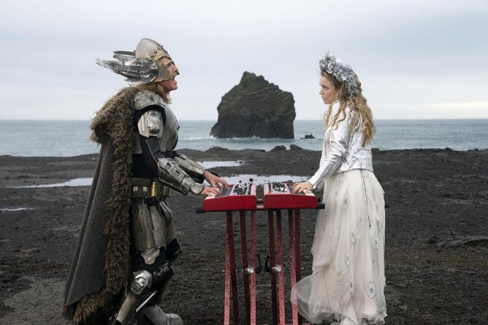 "In the Netflix comedy ""Eurovision Song Contest: The Story of Fire Saga"", premiering on Netflix on Friday, June 26th, Will Ferrell and Rachel McAdams star as Lars Erickssong and Sigrit Ericksdottir, two small-town singers in Iceland who seize a chance to fulfill their dream of competing in the world's biggest song contest. (Photo: Netflix)"