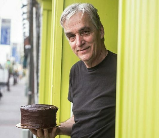 With revenue evaporating during the COVID-19 pandemic, renowned ceramic artist and potter Bill Reddick decided to turn his cake-making hobby into a business. He is now making his famous gluten-free chocolate cakes at Fresh Urban Plate in downtown Peterborough. The cakes are available for delivery or pick-up in Peterborough and can also be shipped across Canada. (Photo: Bill Reddick / Instagram)