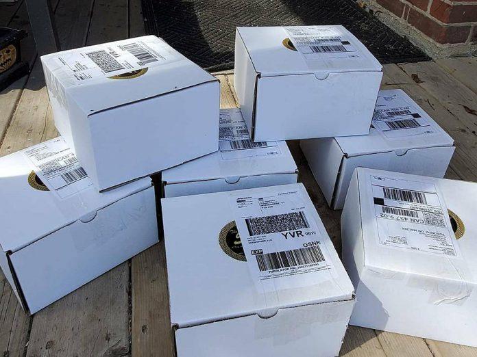 Bill Reddick ships frozen cakes across Canada for a flat shipping fee. (Photo: Bill Reddick / Instagram)