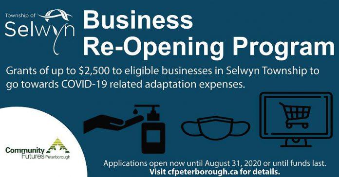 Selwyn Business Re-opening Program