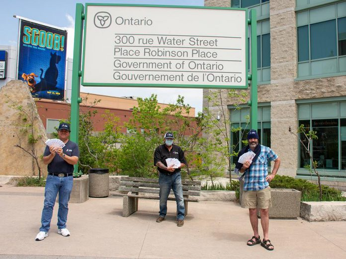 OPSEU Local 362 represents around 600 workers at the Ministry of Natural Resources and Forestry, the Ministry of Government and Consumer Services, and the Ministry of the Environment, Conservation and Parks, working at Robinson Place in downtown Peterborough (pictured), Trent University, Balsam Lake Provincial Park, Darlington Provincial Park, Emily Provincial Park, and Harwood Fish Culture Station. (Photo: Peterborough DBIA)