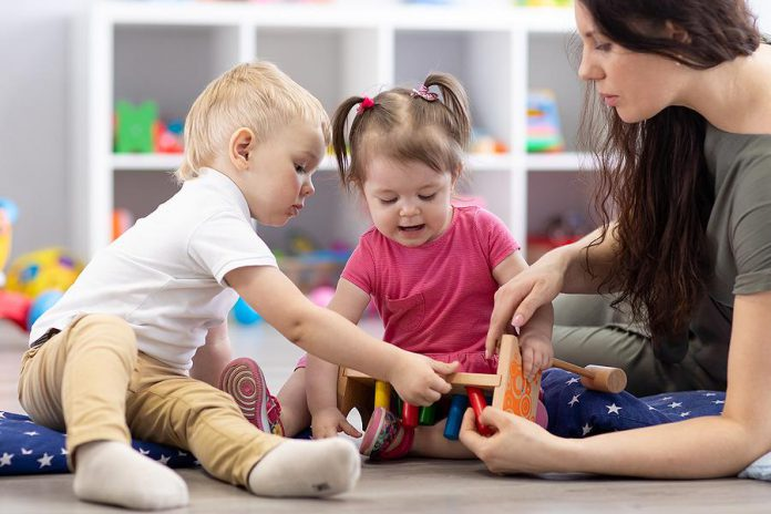 All child care centres in Ontario can reopen on June 12, 2020, as long as they meet strict and stringent guidelines, including limiting children and staff in groups of 10 or less, screening children and staff, regular thorough cleaning, and more.