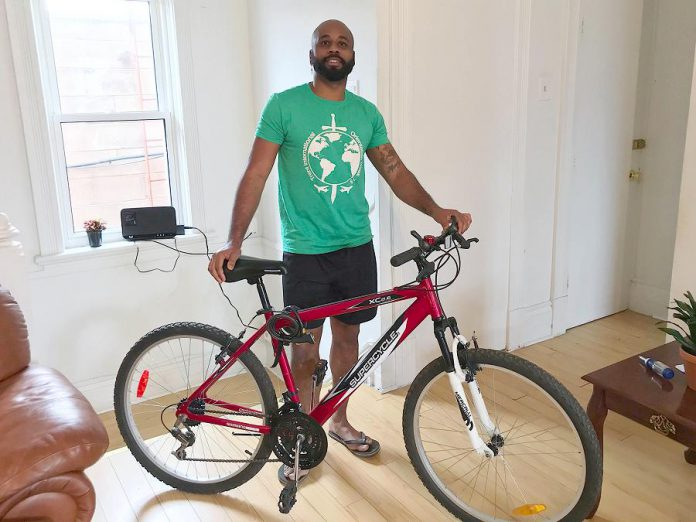 Many people have discovered a new or renewed interest in cycling during the pandemic. Jay picked up a refurbished bike this year to connect with nature and release anxieties during these times of isolation. The time spent outdoors has been a welcome change. (Photo: GreenUP)