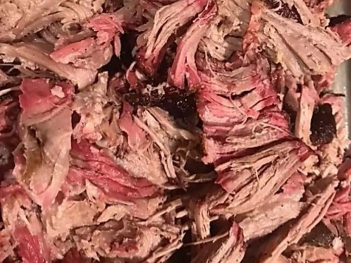 One of the food options available from the virtual Kawartha Craft Beer Festival is a half pound of pulled pork from Dr. J's BBQ & Brews in Peterborough. (Photo: Kawartha Craft Beer Festival)